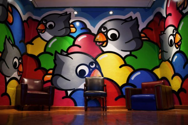 Peinture Birdy Kids